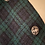 Thumbnail: Black Watch Tartan Harris Tweed Cape