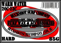 Surfboard Wax - WARM WATER 85grams