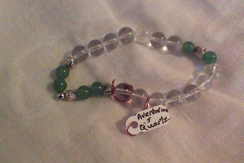Quartz & Aventurine bracelet