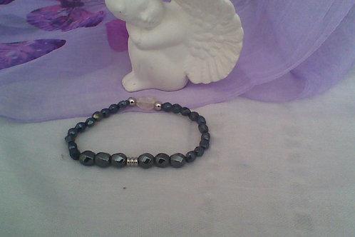 Hematite & Citrine bracelet