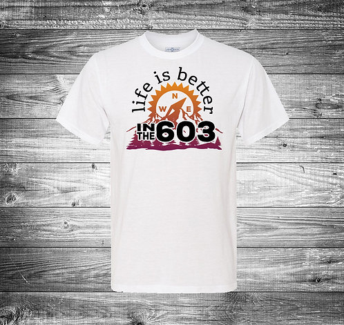 Life is Better Full Color Tshirt