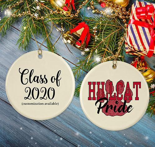 Hillcat Holiday Ornament
