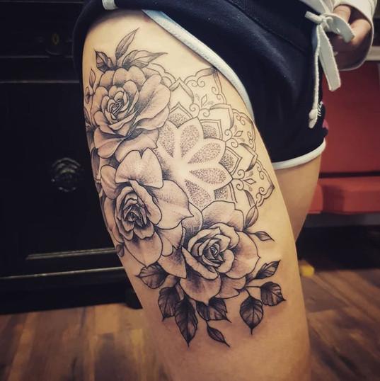 rose tattoo linework.jpg