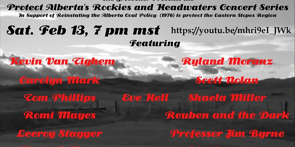 Protect Alberta's Rockies and Headwaters Concert Series