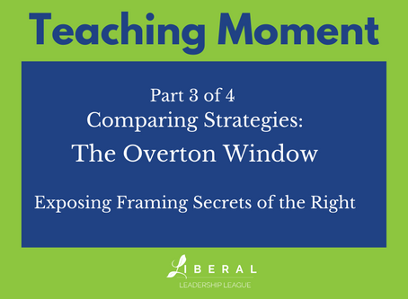 Part 3: Comparing Strategies - The Overton Window