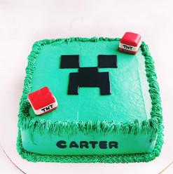 Minecraft GF V Cake