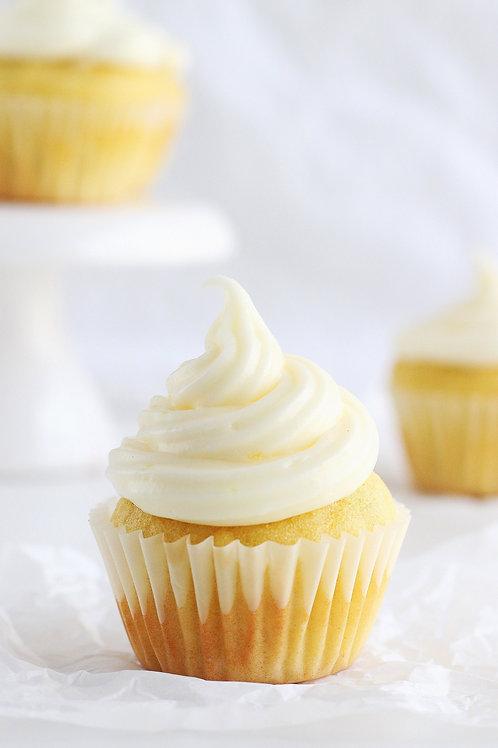 Vanilla Cupcakes (1 dozen)