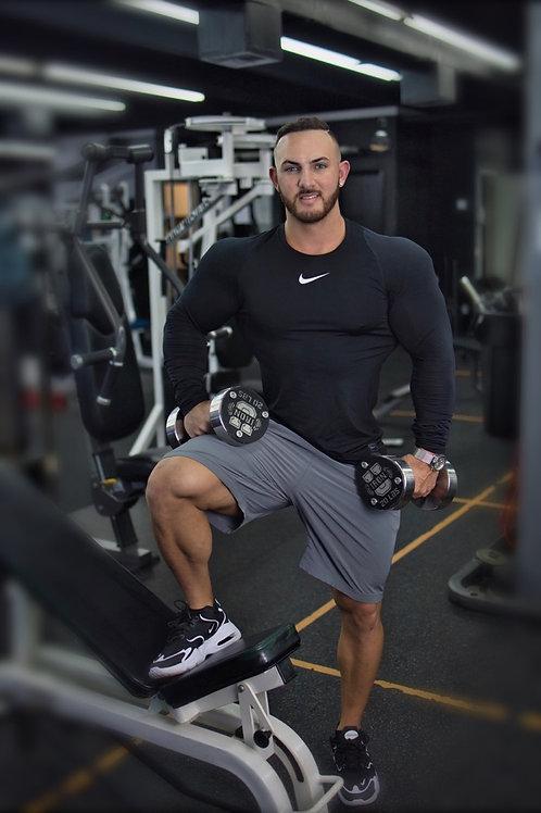 1 Month Training 3 x a week