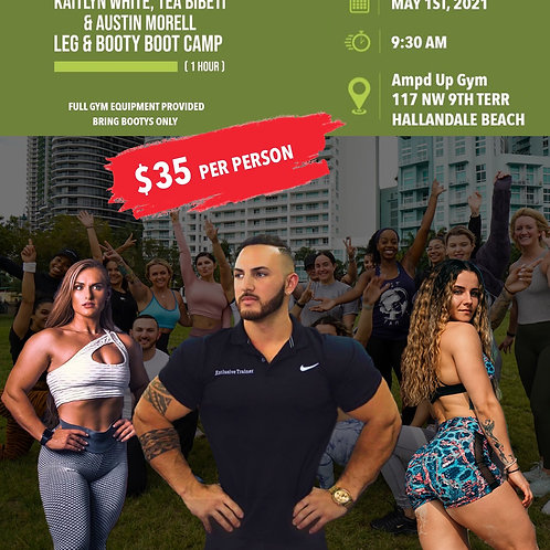 Booty Camp 5/1 (Amp'd Up Gym)