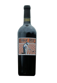 Valle seco. Red Wine 2018