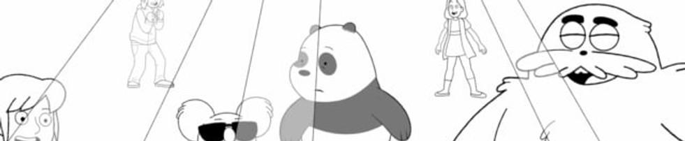Cartoon Offair - We Bare Bears