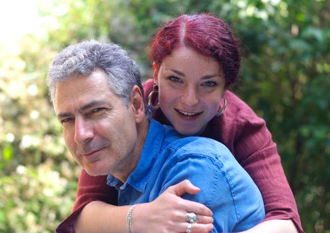 Père et fille.. photo de jeff Bohler