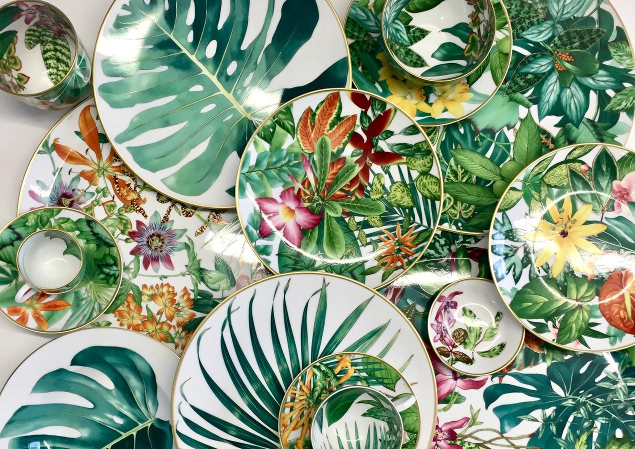 Passifolia une création 2020 de Nathalie Rolland-Huckel pour Hermès