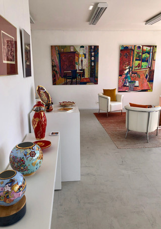 Exposition avec l'Artiste Iza Emberger