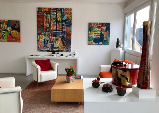 Les ateliers de Noël avec le travail de Nathalie Rolland-Huckel