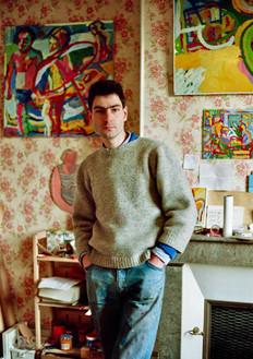 Limoges, étudiant à l'Ecole nationale des arts décoratifs. 1986
