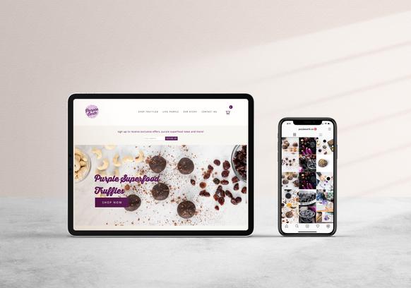 Purple Earth Website
