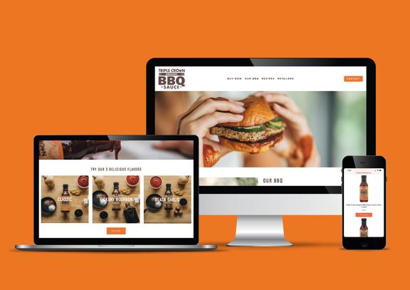 Triple Crown BBQ Sauce Website