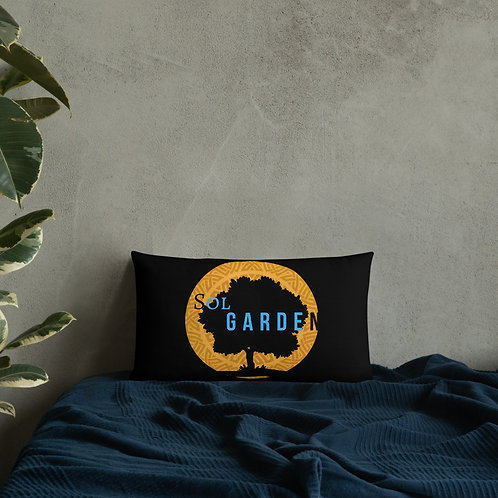 Throat Chakra Premium Pillow