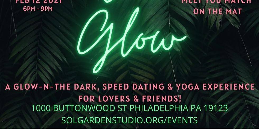 Sol Glow (Glow-n-the Dark Speed Dating + Yoga Experience )