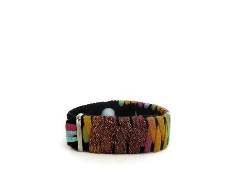 Relaxation Pressure Point Bracelet (Single Band) Amber Adventurer