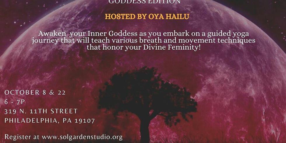 "Tantrizm ""Goddess Edition"" October 8th & October 22nd"