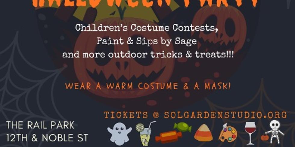 A Kiddie Halloween Party