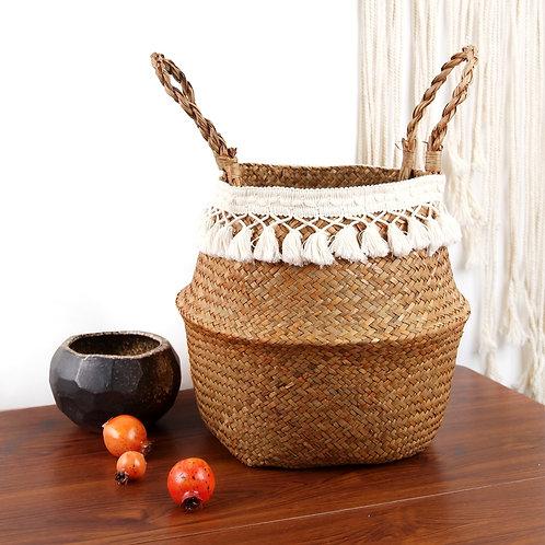 Seagrass Woven Storage Plant/Storage Basket