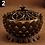 Thumbnail: Lotus Shape Zinc-Copper Alloy Incense Burner