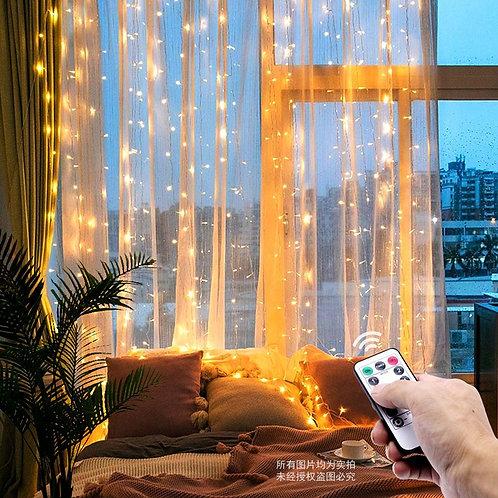 3M LED Christmas Fairy String Lights Remote Control USB