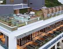 23top Sweet 空間デザインインテリアデザインmare沖縄バー