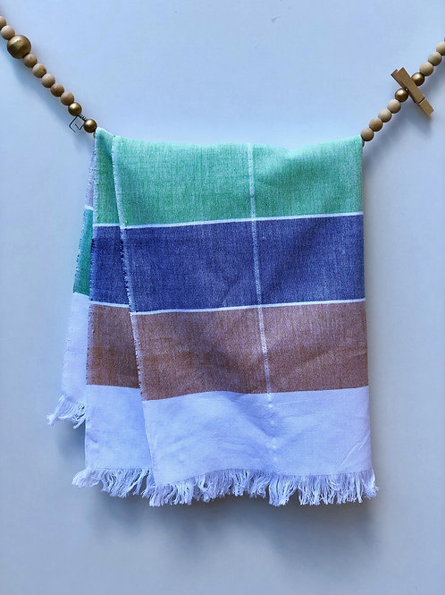 GuaTela Towel - Colorful Dawn (Brown)
