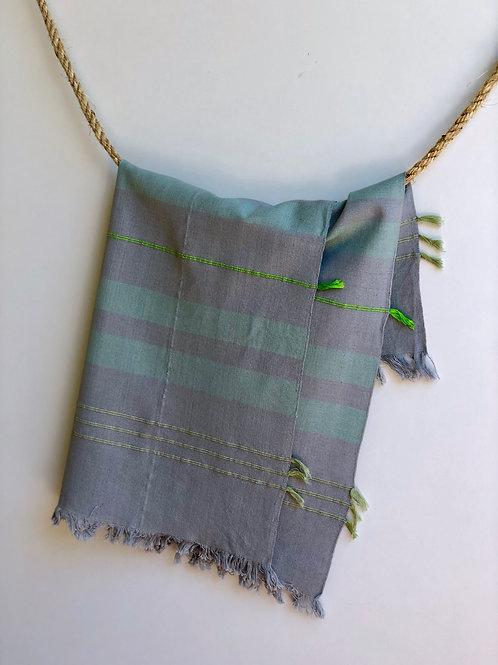GuaTela Towel - Electric Green Dusk
