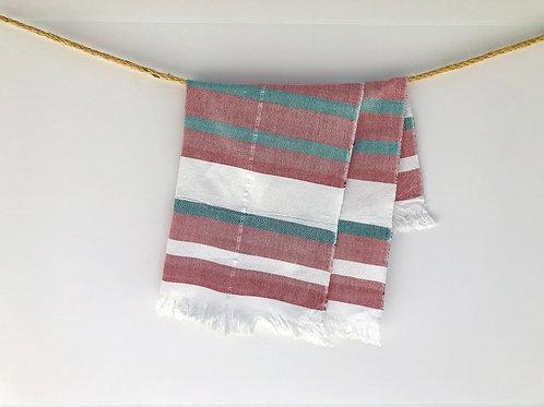 GuaTela Towel - Burgundy  Dawn