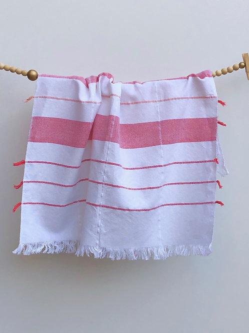 GuaTela Towel - Coral Dawn