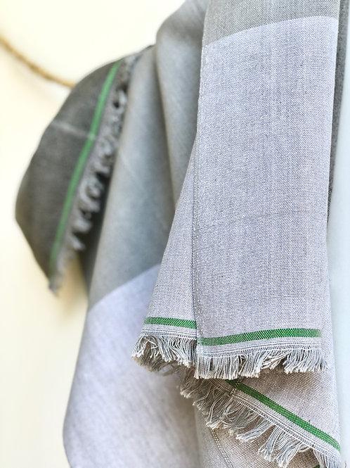 GuaTela Towel - Shades of Grey Dusk