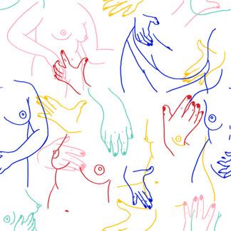 """Inspirado por un texto de Annete S:  """"Deseo que el cuerpo femenino deje de ser sexualizado y sea amado por sus diferencias."""""""