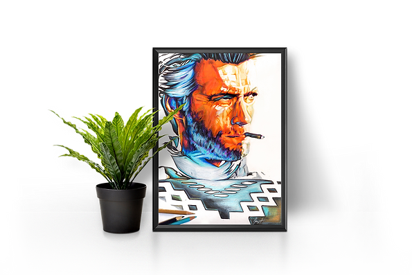 Réalisation d'illustrations couleur de différents formats et à l'aide de techniques mixtes.