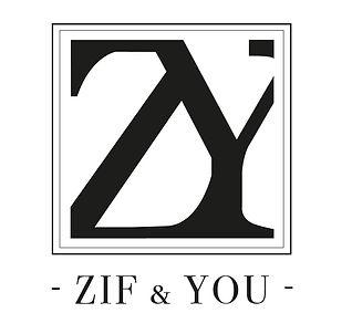 Réalisation d'un logotype pour la marque Zif & You, spécialisée dans le prêt-à-porter et la vente d'accessoires.