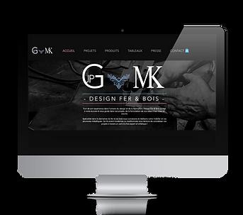 Réalisation de l'identité visuelle de la marque Design Fer & Bois, concepteurs de structures et mobiliers métalliques et bois.