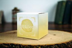 Réalisation de logo et packaging destinés à retranscrire l'image de  Chez la Mère Suzanne, crêperie à St Avold.
