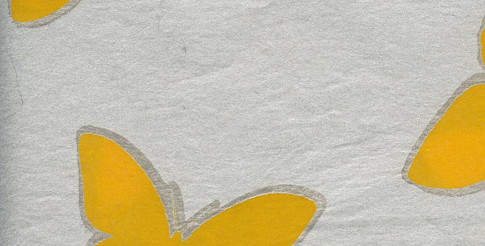 """ラッピングペーパー""""Butterfly""""+ リボン"""