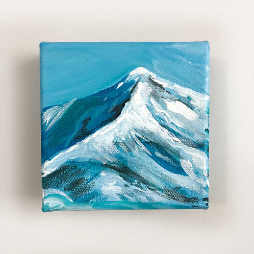 """Lanscape - MADE TO ORDER - 4""""x4"""" Acrylic on canvas"""