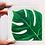 """Thumbnail: Little Leaf Painting - 4""""x4"""" Tile"""