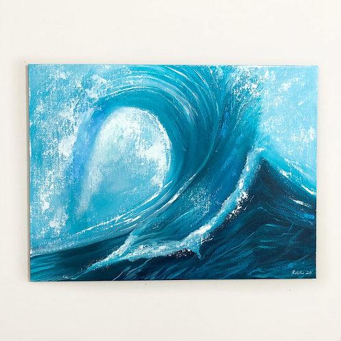 "12""x16""Seascape Painting"