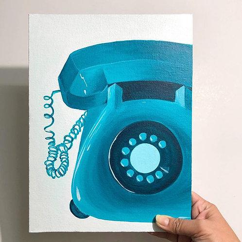 """Nostalgia - 9""""x12"""" Acrylic on Canvas"""