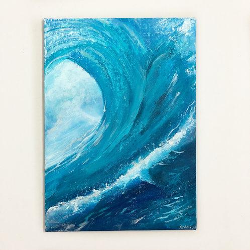 "10""x14"" Seascape Painting"