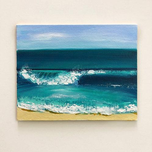 "8""x10"" Seascape Painting"