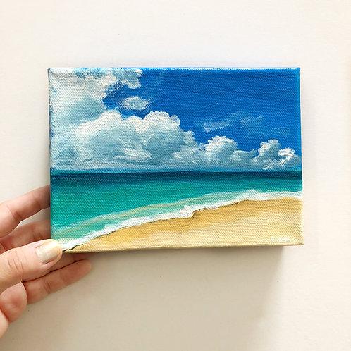 "5""x7"" Seascape Painting"