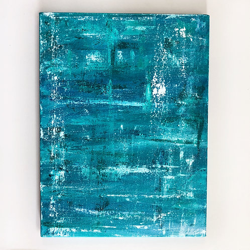 """12""""x16"""" Abstract Painting"""